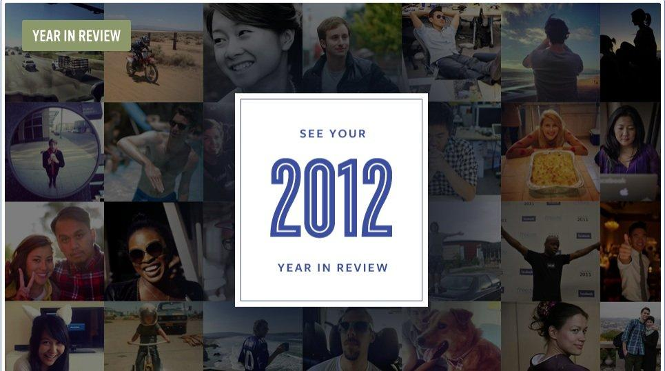 Facebook: con Year in Review, per ripercorrere il 2012 basta un click!
