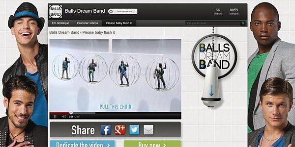 Balls Dream Band: il successo della boy band del WC [INTERVISTA]