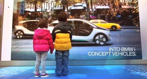 BMW crea una finestra sul futuro con le sue auto elettriche [VIDEO]