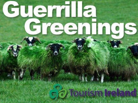 """Festeggia San Patrizio con il contest """"Guerrilla Greenings"""""""