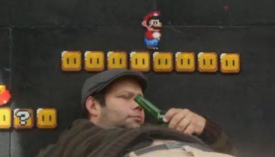 Super Mario nel mondo reale…di nuovo! [VIDEO]