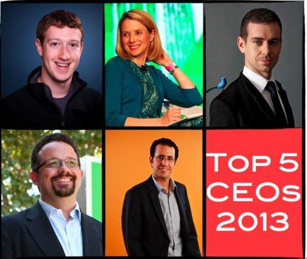 5 grandi CEO da tenere d'occhio nel 2013