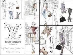 Louis Vuitton Paper Dolls cut ots