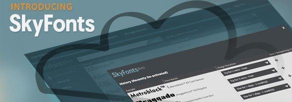 SkyFonts: il rivoluzionario servizio di noleggio font