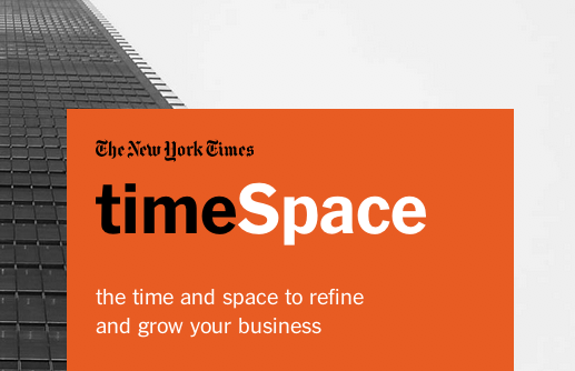 Startup Incubator: TimeSpace e la rivoluzione The New York Times