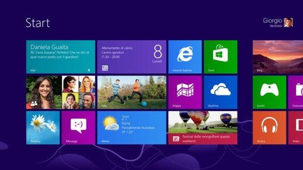 Windows 8: aiuto! Dov'è il pulsante Start?