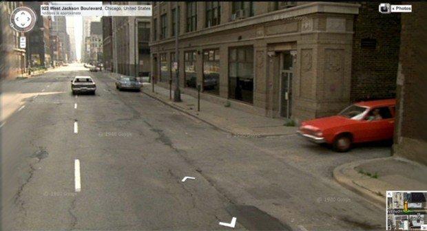 5 scene di grandi film viste attraverso Google Street View
