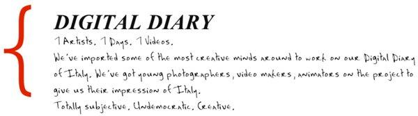 Digital Diary of Basilicata 2012. Quale video preferite? [VIDEO]