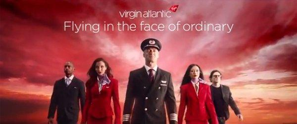 Virgin Atlantic, l'idea di volare fuori dal normale [VIDEO]