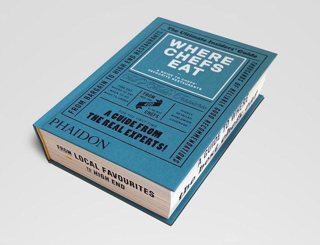 Dove mangiano gli chef? Il libro con tutti i ristoranti preferiti