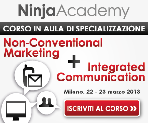 "Milano, 22-23 marzo: Corso in Aula in ""Non-Conventional & Integrated Communication"""
