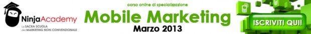 Corso Online Mobile Marketing