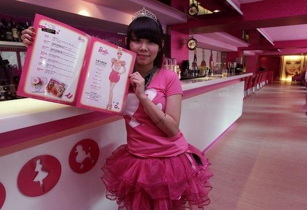 Barbie cafè: apre a Taiwan il primo locale a tema