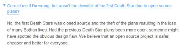 Finanzia anche tu la costruzione della Morte Nera su Kickstarter