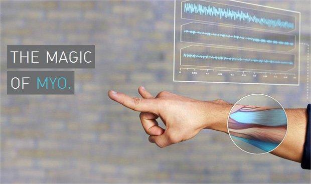MYO: la fascia da braccio tecnologica per gestire i device!