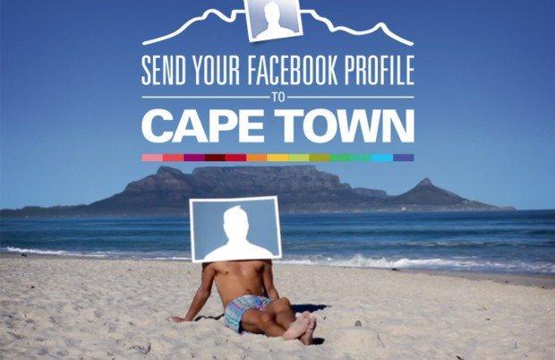 La campagna marketing di Città del Capo su Facebook
