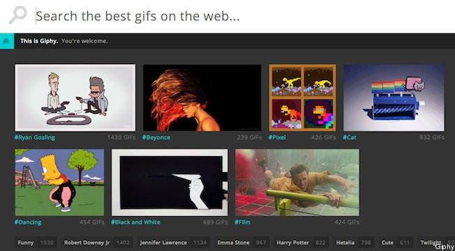 Giphy, il motore di ricerca per le GIF più belle