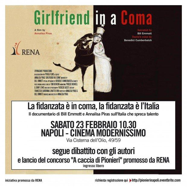 Girlfriend in a coma: la proiezione del film e l'incontro con Bill Emmott e Annalisa Piras [EVENTO]