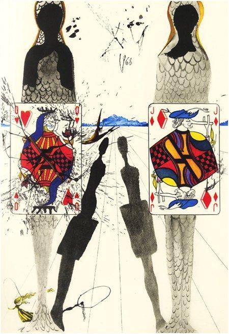 Le illustrazioni di Salvador Dalì per Alice in Wonderland