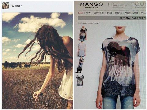 Mango utilizza una foto di Instagram senza autorizzazione
