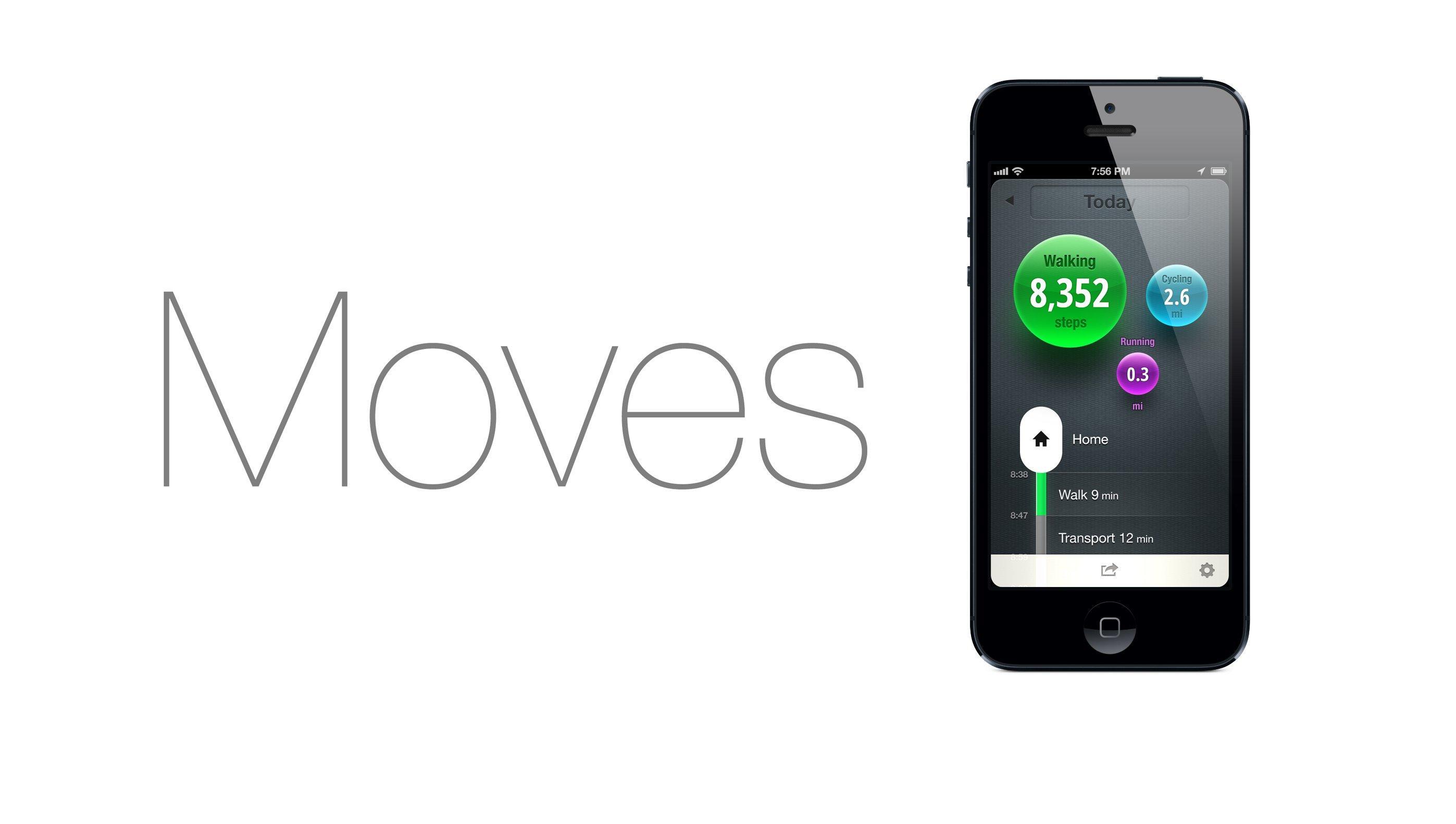 App of the Week: Moves, tieni traccia della tua attività fisica!