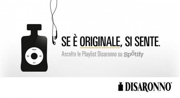 Disaronno e Spotify: se è originale, si sente! [INTERVISTA]