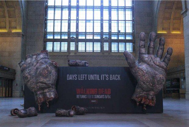 Il ritorno della serie The Walking Dead è ambient