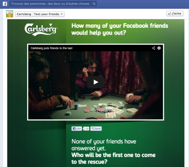 Carlsberg mette alla prova le tue amicizie