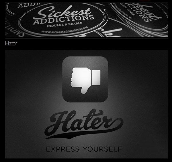 Hater, la social app per condividere quello che odiate