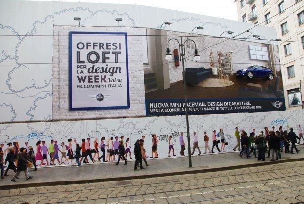 MINI Paceman: un loft gratis a Milano durante il Salone del Mobile