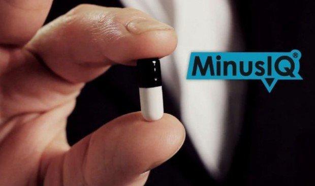 Minus IQ Pills, le nuove pillole per ridurre il quoziente intellettivo [VIDEO]