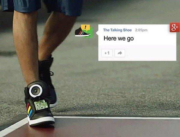Adidas e Google insieme per le nuove Talking Shoes [VIDEO]