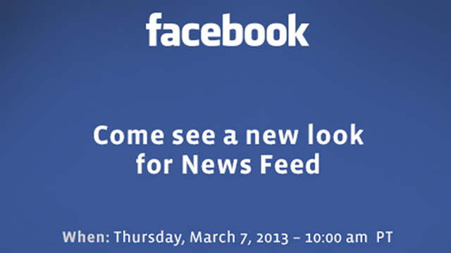 Facebook: da domani un News Feed diverso [BREAKING NEWS]