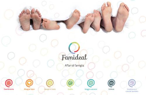 Famideal: il primo sito italiano di couponing per famiglie