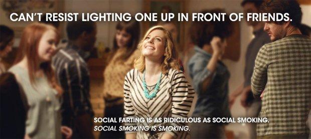 Social Farter, la campagna sociale che mette il fumo in ridicolo [VIDEO]