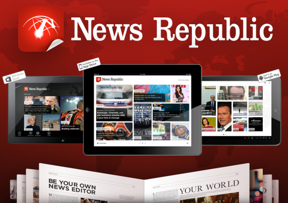 App of the Week: News Republic, tutte le news che ti interessano!