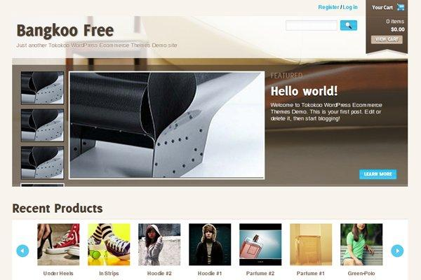 8 temi WordPress gratuiti per il tuo E-commerce