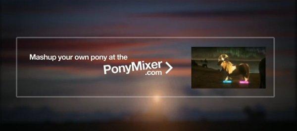 The Pony, l'interattività virale di Tre [VIDEO]