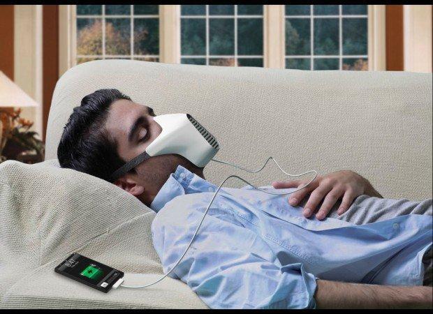 Arriva Aire e lo smartphone si ricarica respirando