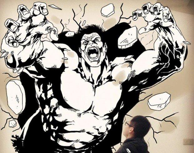 I comics invadono la realtà nelle foto di Gaikuo-Captain