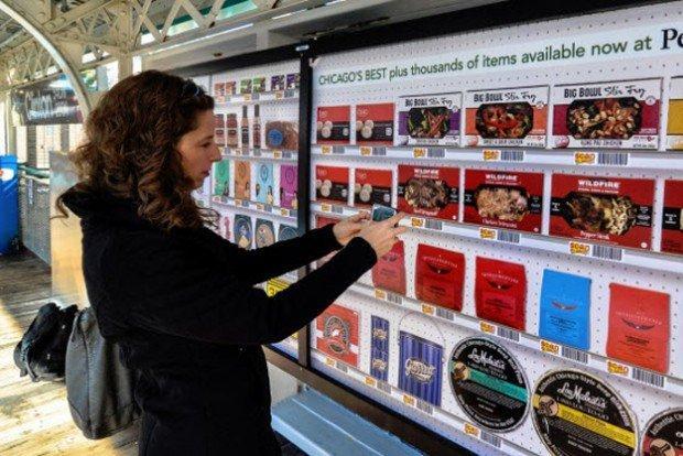 Virtual Display Grocery: per la spesa prendi lo smartphone e lascia il carrello!