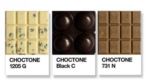 Choctone: Pantone e cioccolato per i geek golosi