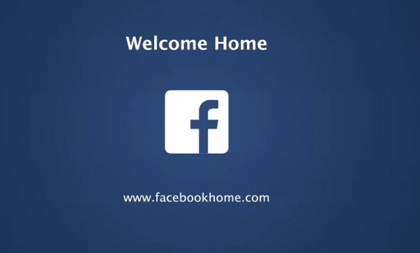 Facebook e Android: welcome Home!