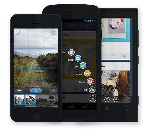 Tumblr: l'aggiornamento dell'app iOS include il social sharing [BREAKING NEWS]
