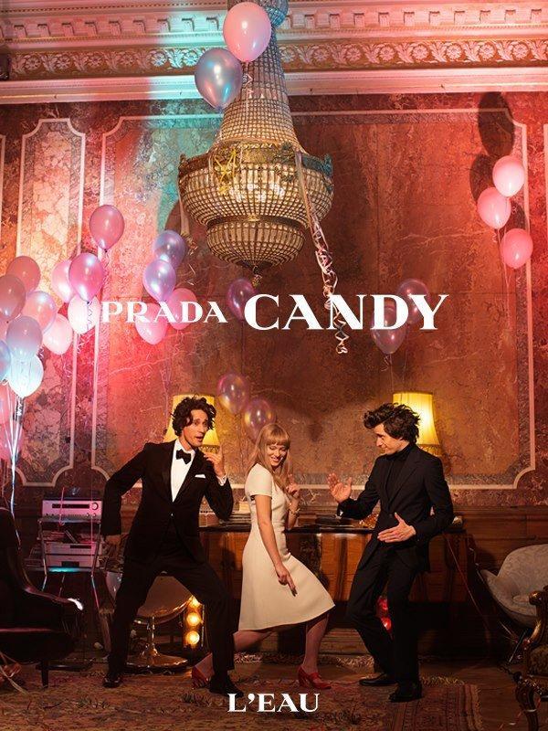 Wes Anderson e Roman Coppola presentano L'Eau di Prada: Candy [VIDEO]