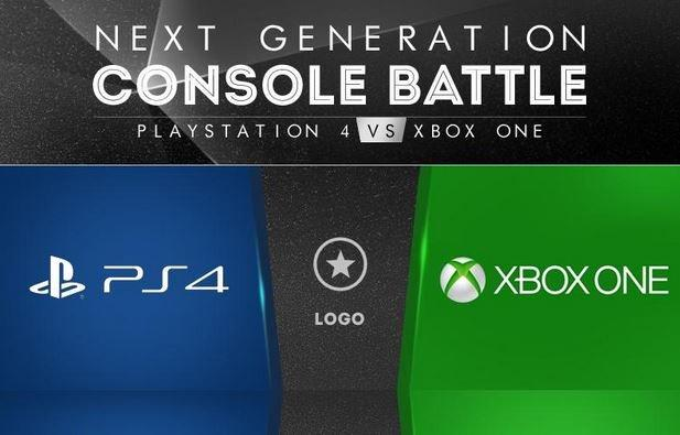 Battaglia tra console: PlayStation 4 contro Xbox One [INFOGRAFICA]