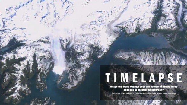Google Timelapse, come è cambiata la terra negli ultimi 30 anni!