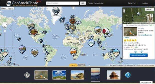 La stock photography diventa geolocalizzata con GeoStockPhoto