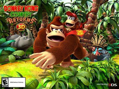 Nuova uscita Nintendo: Donkey Kong Country Returns 3D