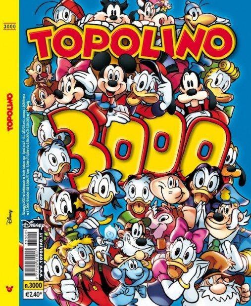 Topolino 3000: Disney festeggia l'anniversario con un'edizione da collezione